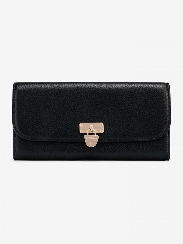 Metallic Soft Peněženka Coccinelle Černá