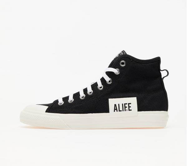 adidas x ALIFE Nizza Hi Core Black/ Off White/ Off White