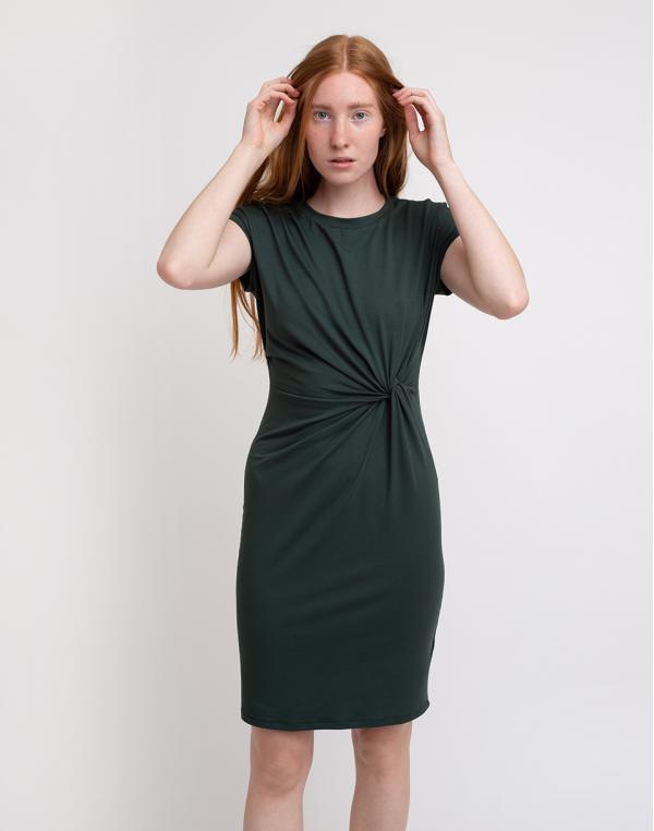 Edited Faith Dress Darkest Spruce 34