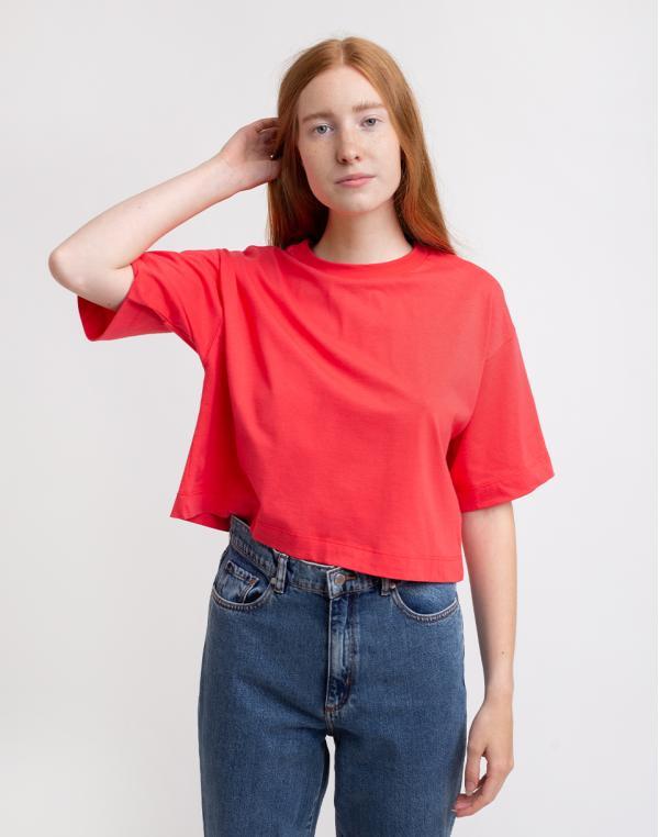 Edited Sila T-Shirt Teaberry 34