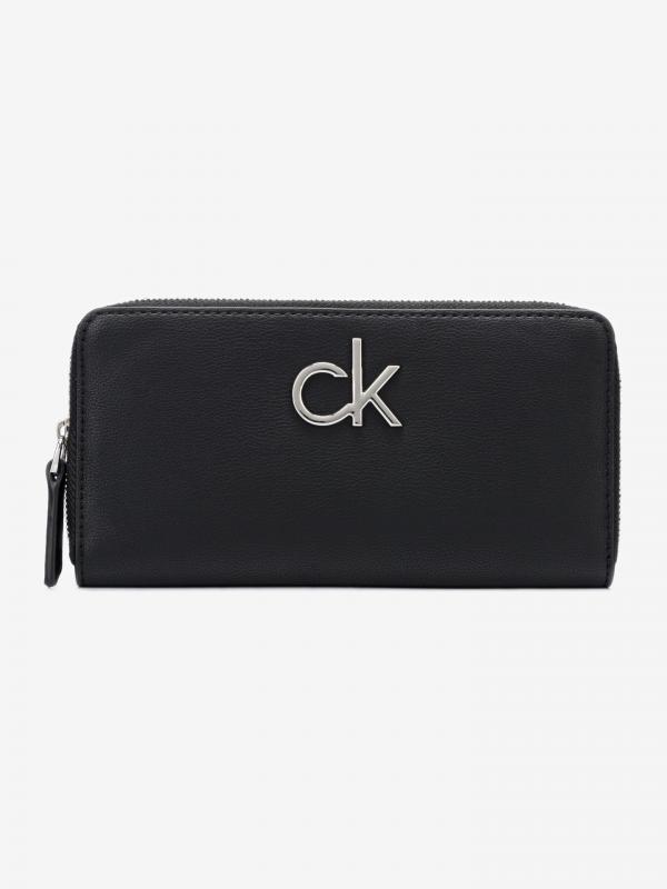 Re-Lock Large Peněženka Calvin Klein Černá
