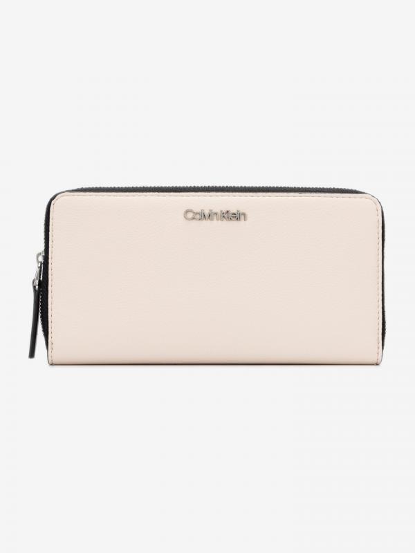 Must Ziparound Large Peněženka Calvin Klein Béžová