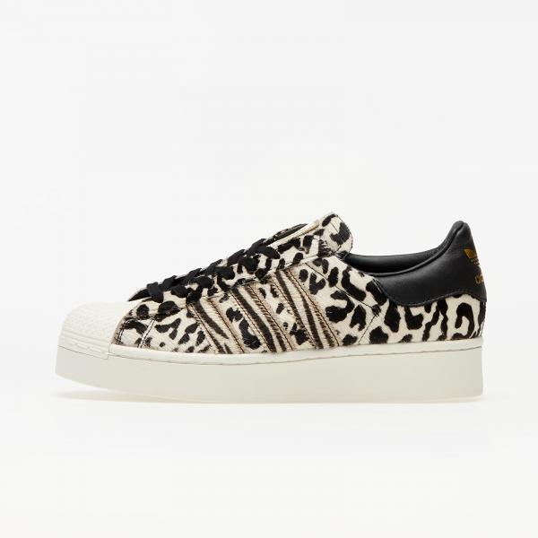 adidas Superstar Bold W Core Black/ Off White/ Gold Metalic