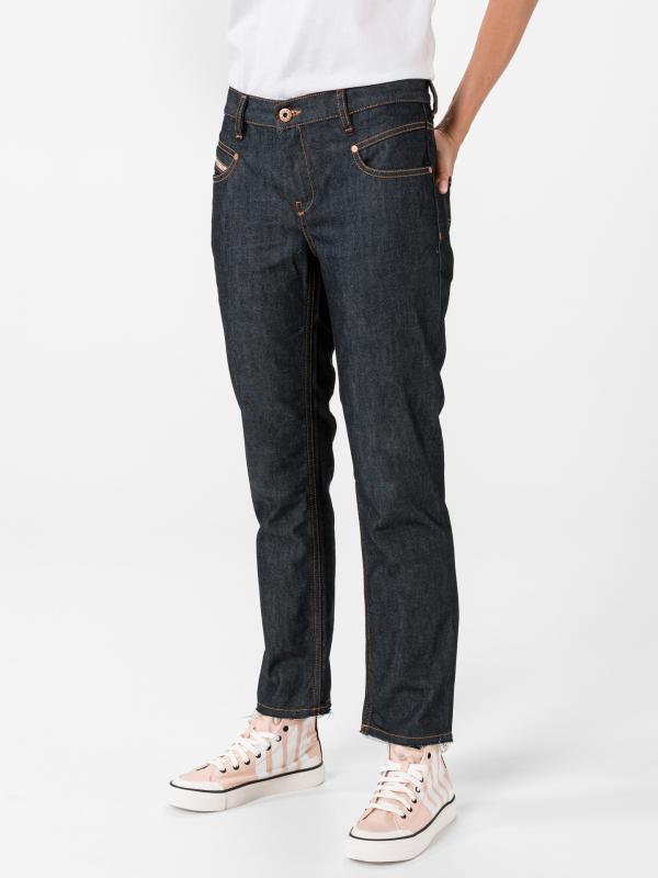 Belthy-Ankle Jeans Diesel Modrá