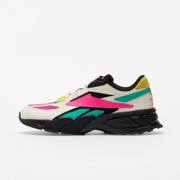 Reebok EVZN Alabaster/ Pro Pink/ Court Green