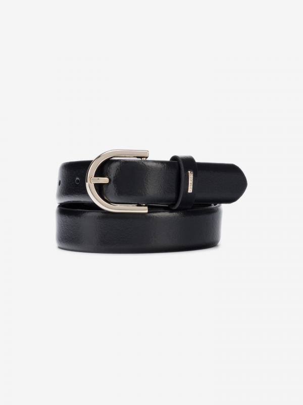 Feminine Pásek Calvin Klein Černá