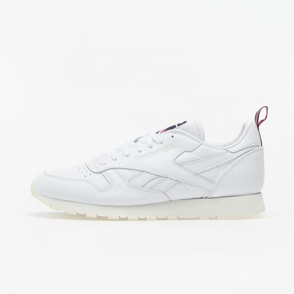 Reebok Classic Leather White/ Chalk/ Vector Navy