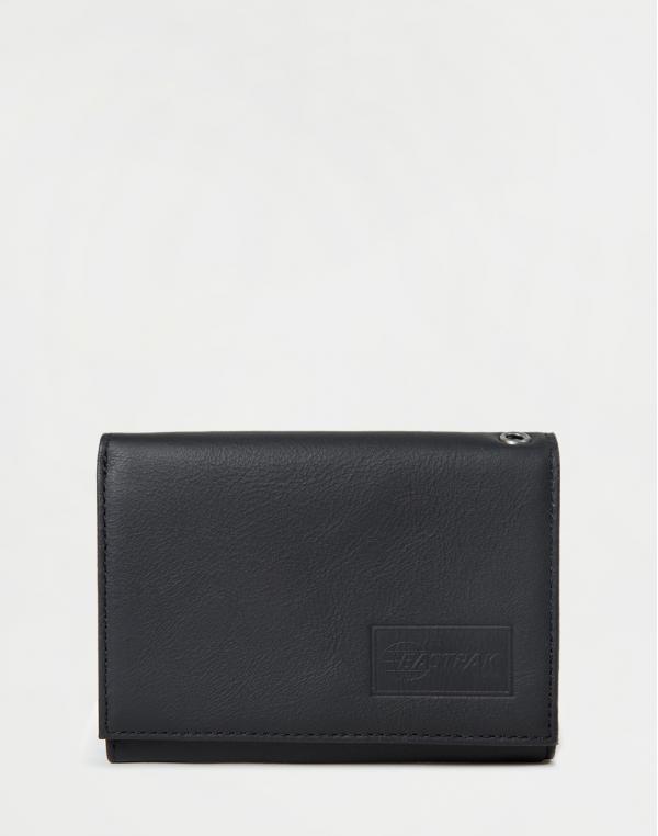 Eastpak Crew RFID Black Ink Leather