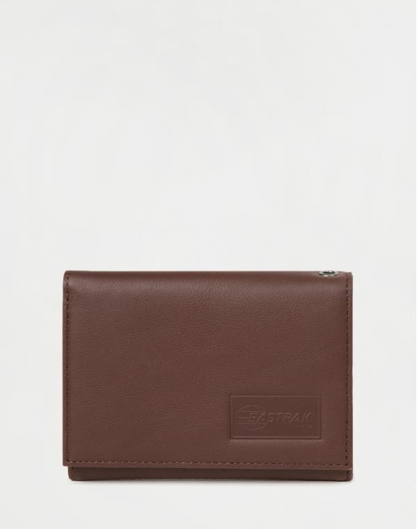 Eastpak Crew RFID Chestnut Leather