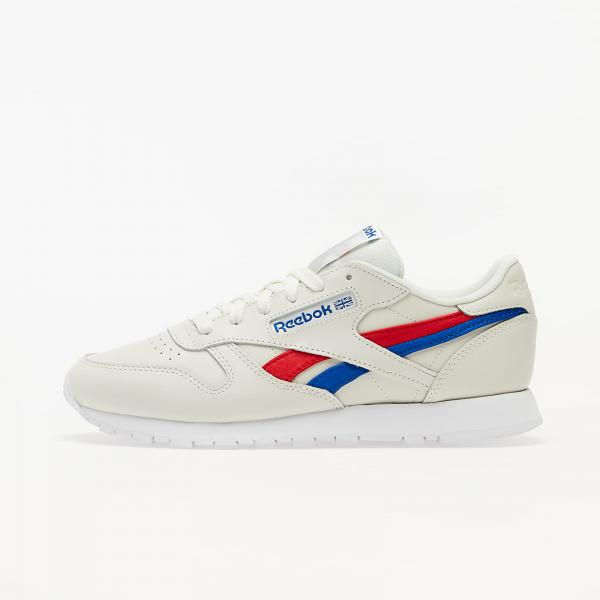 Reebok Classic Leather Chalk/ Vector Red/ Vector Blue