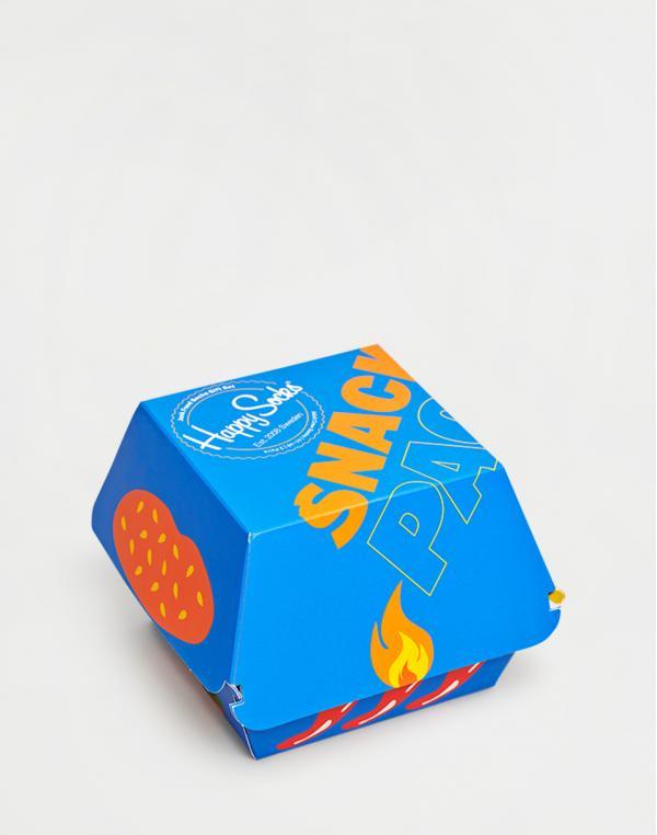 Happy Socks 3-Pack Junk Foods Gift Set XJUN08-0100 36-40