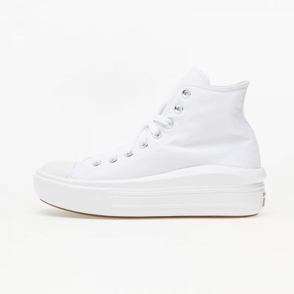 Converse Chuck Taylor All Star Move White/ Natural Ivory/ Black