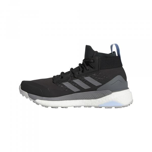 adidas Terrex Free Hiker Gore-Tex W Carbon/ Grey Four/ Glow Blue