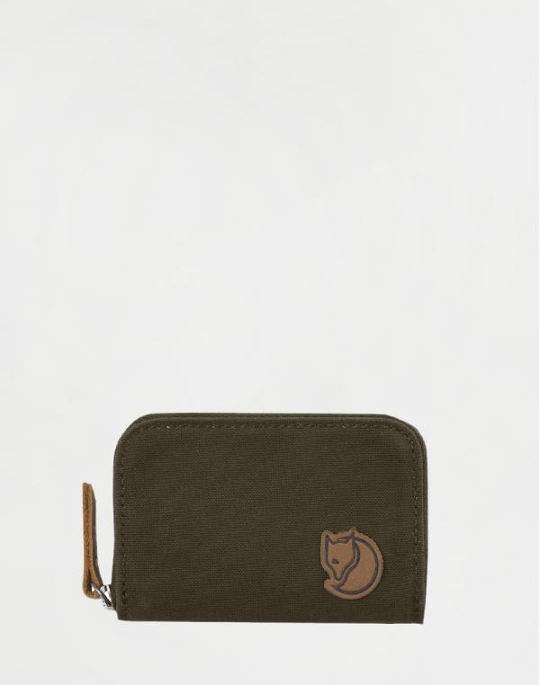 Fjällräven Zip Card Holder 633 Dark Olive