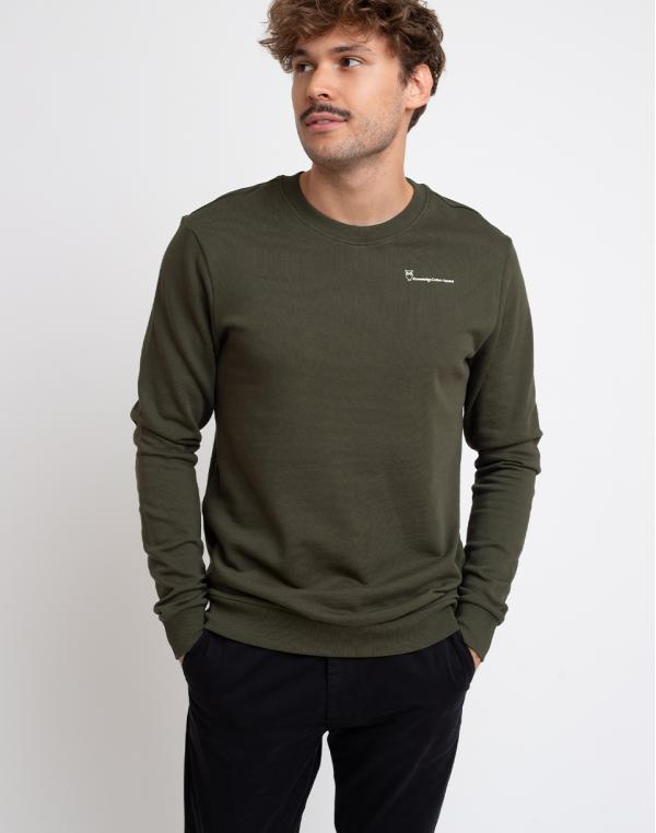 Knowledge Cotton Elm Knowledgecotton Sweat 1090 Forrest Night S
