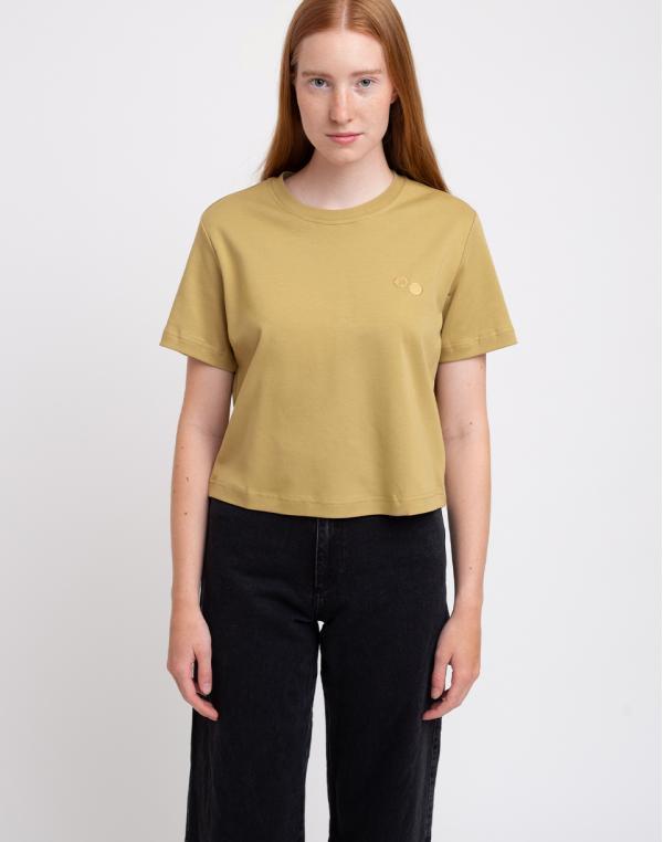pinqponq T-Shirt Women Bark Beige S