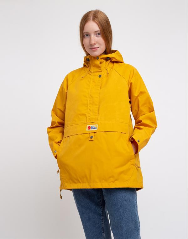 Fjällräven Vardag Anorak W 161 Mustard Yellow XS