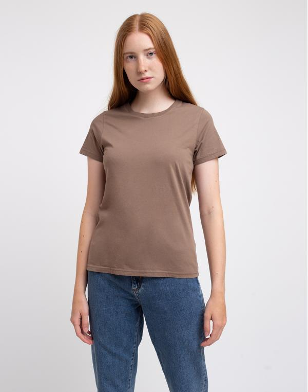 Colorful Standard Women Light Organic Tee Warm Taupe XS