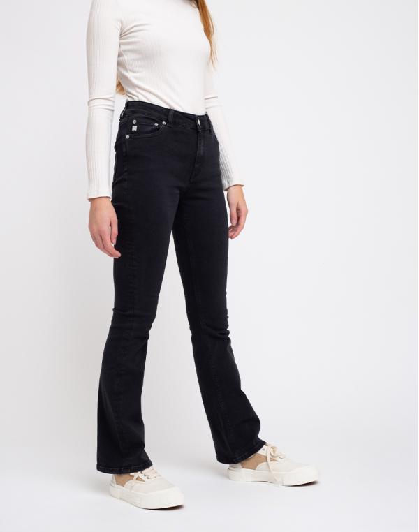 Mud Jeans Flared Hazen Stone Black W26/L32