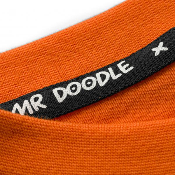 Puma x Mr Doodle Relaxed Tee Dragon Fire