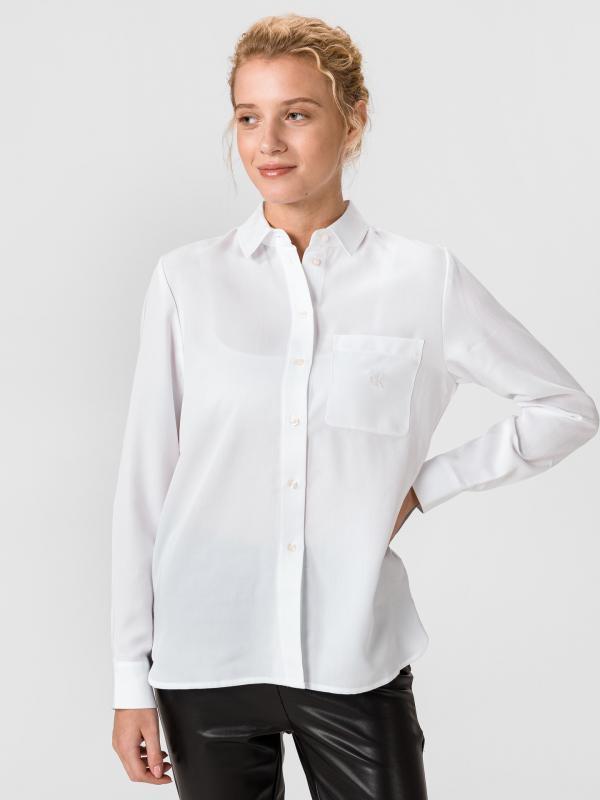 Classic Twill Košile Calvin Klein Bílá