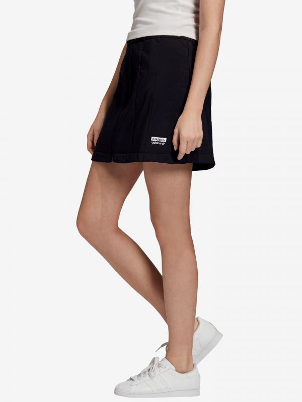 R.Y.V. Sukně adidas Originals Černá