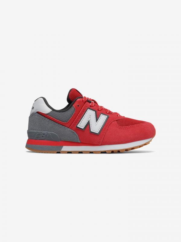 574 Tenisky dětské New Balance Červená
