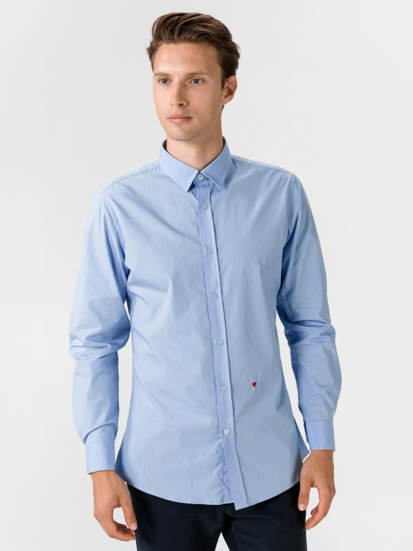 Košile Moschino Modrá