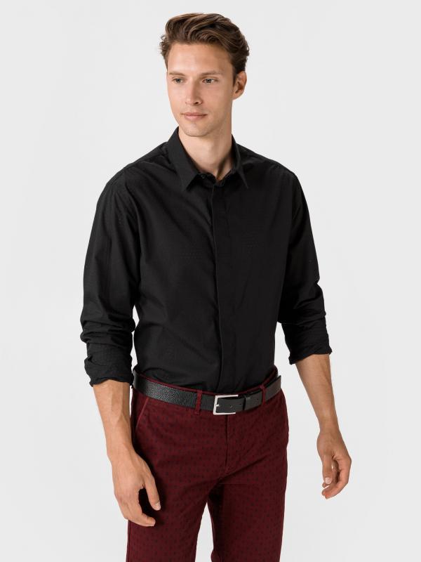 Košile Giorgio Armani Černá