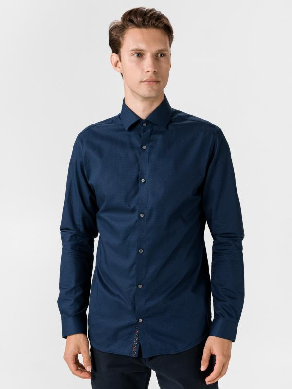 Blaviggo Košile Jack & Jones Modrá