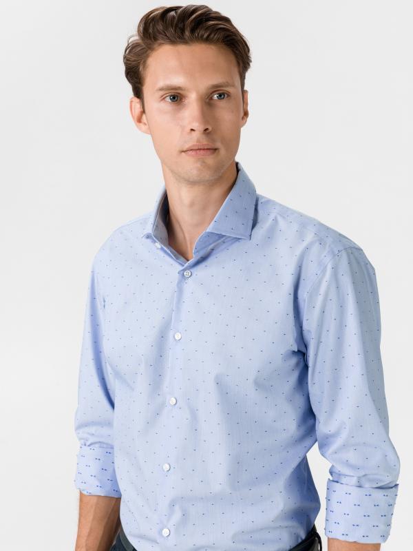 Gordon Košile BOSS Modrá