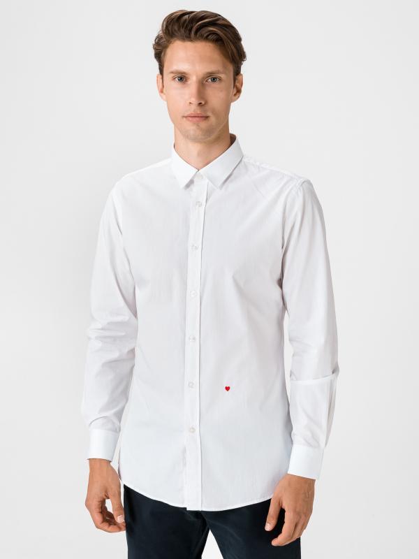 Košile Moschino Bílá