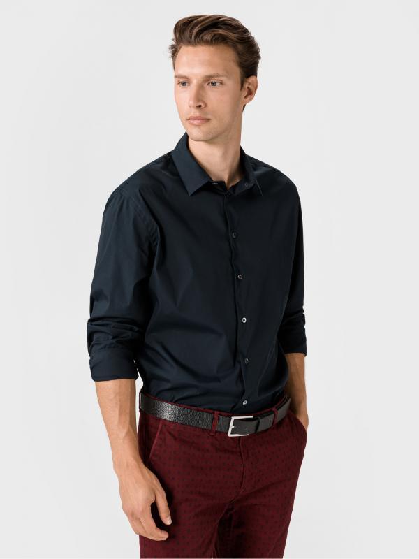 Košile Giorgio Armani Modrá
