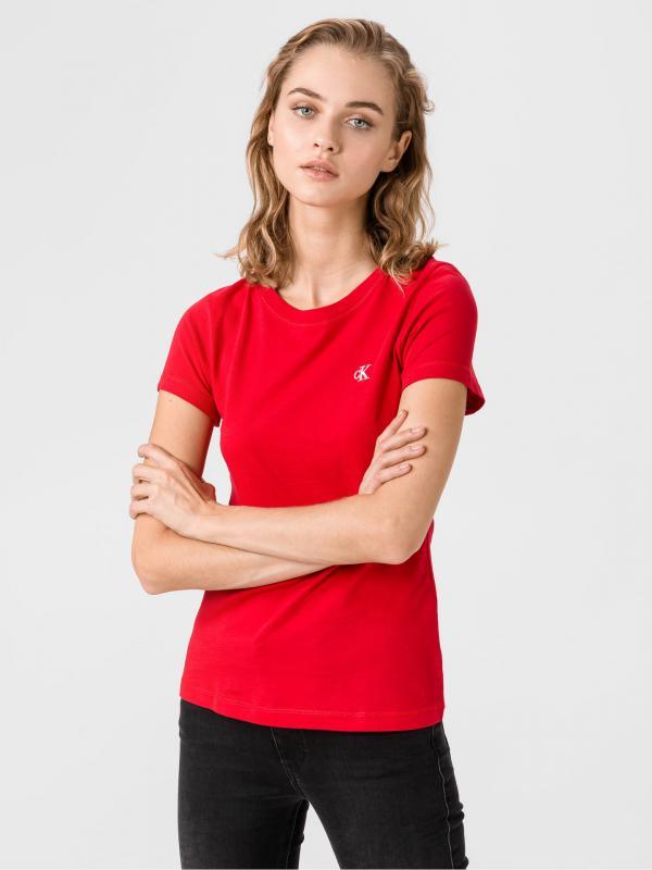 Triko Calvin Klein Červená
