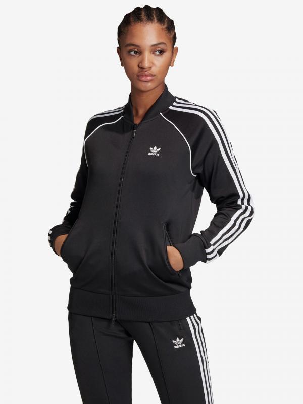Primeblue Bunda adidas Originals Černá