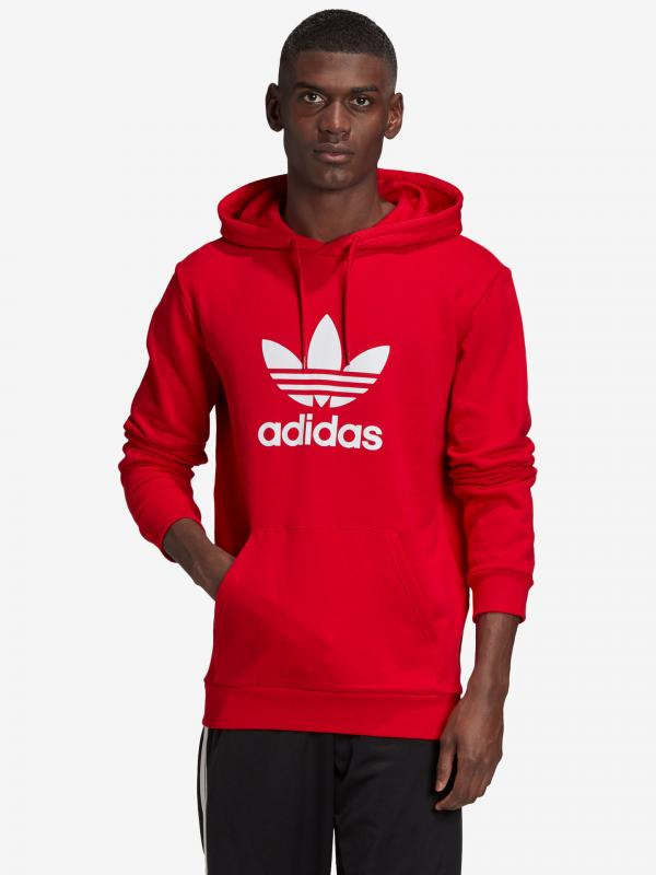 Mikina adidas Originals Červená