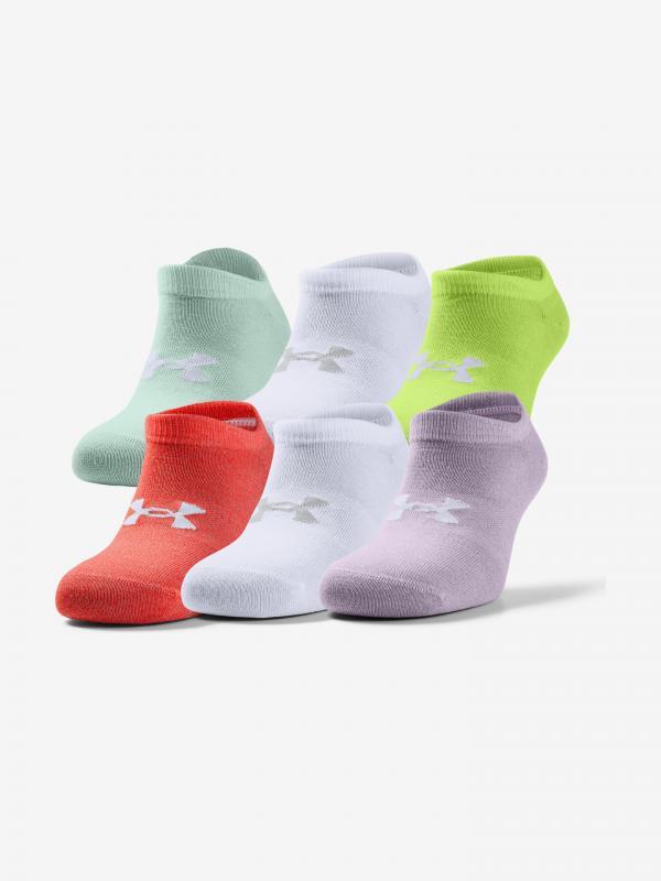 Essential Ponožky 6 párů Under Armour Barevná