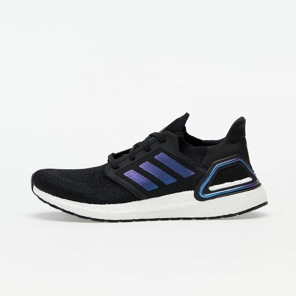 adidas UltraBOOST 20 Core Black/ Blue Vime/ Ftw White