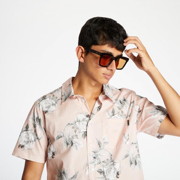 HUF Widower Woven Shirt Plastic Pink
