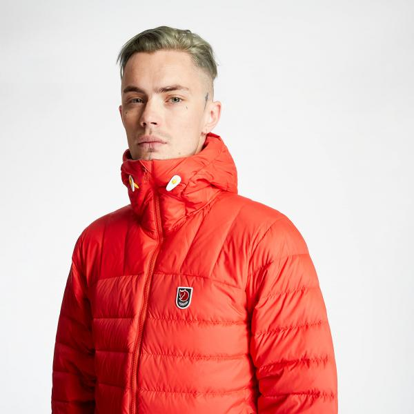 Fjällräven Expedition Pack Down Jacket True Red
