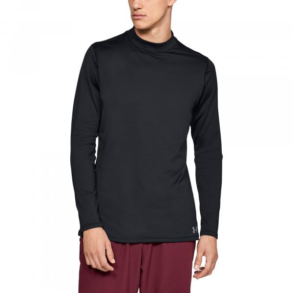 Under Armour CG Armour Fitted Mock Black