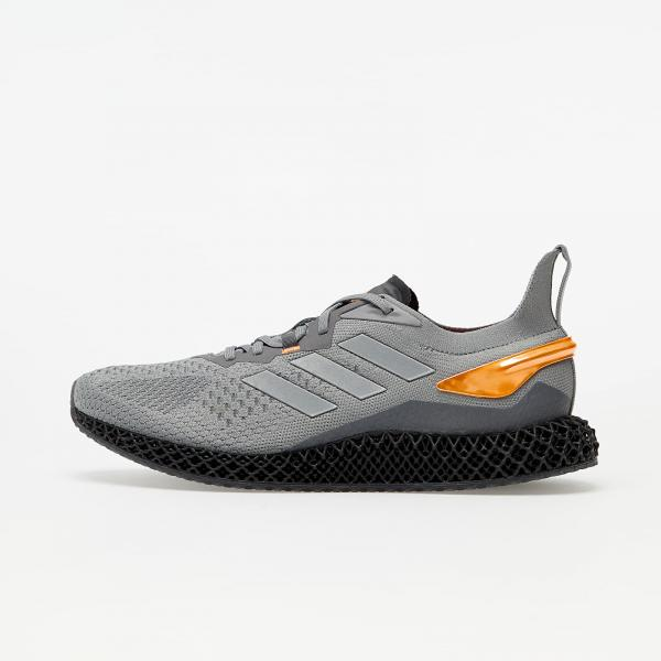 adidas X90004D Grey Three/ Metalic Silver/ Signature Orange
