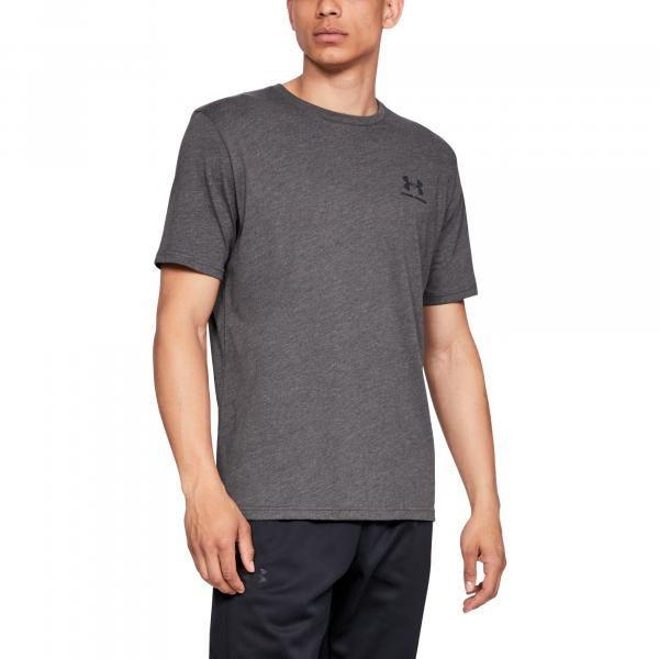 Under Armour Sportstyle Lc SS Charcoal Medium Heather/ Black