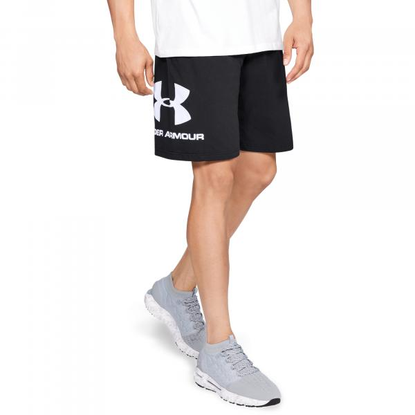 Under Armour Sportstyle Cotton Shorts Black