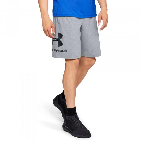 Under Armour Sportstyle Cotton Shorts Gray