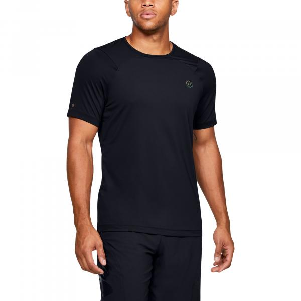 Under Armour Hg Rush Fitted SS Black