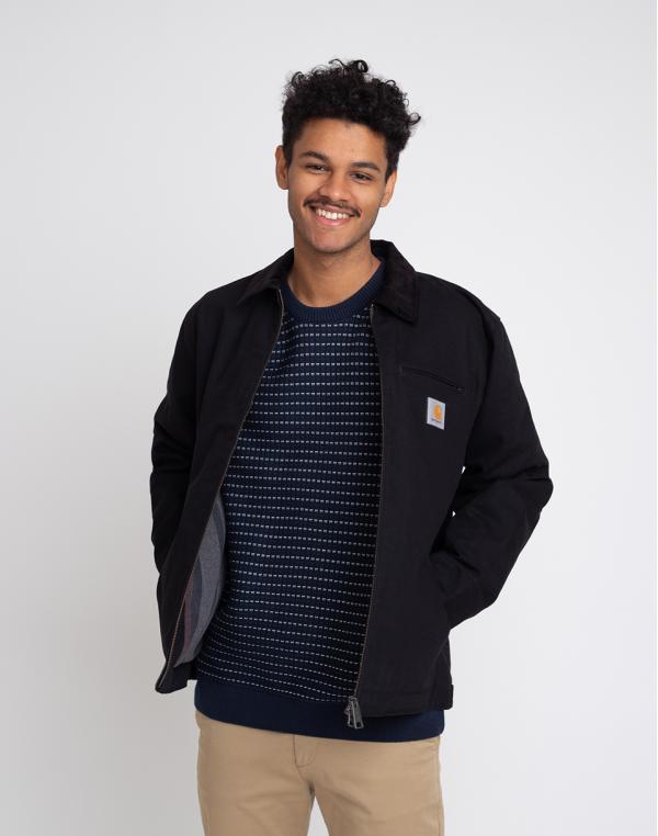 Carhartt WIP Detroit Jacket Black Rigid M