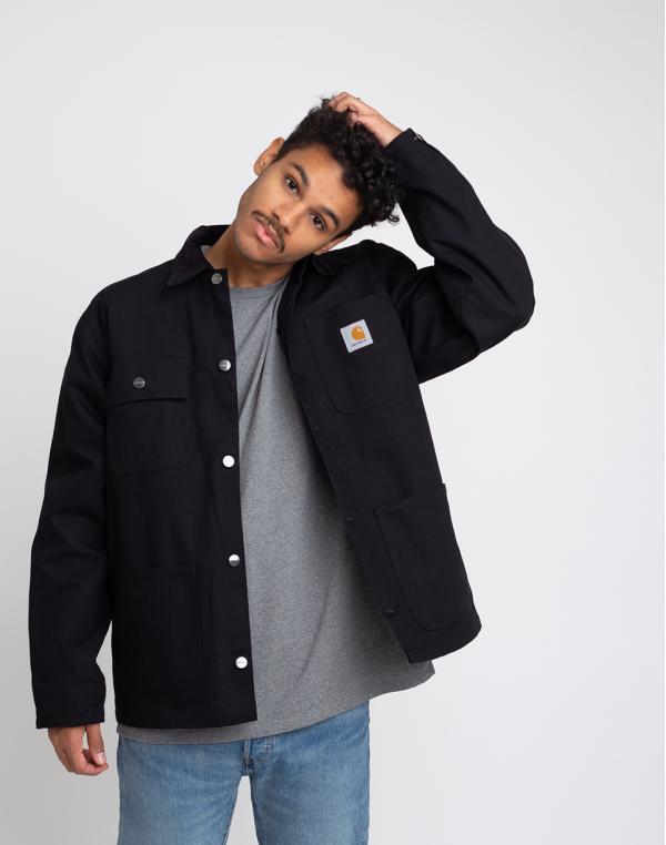 Carhartt WIP Michigan Coat Black Rigid L
