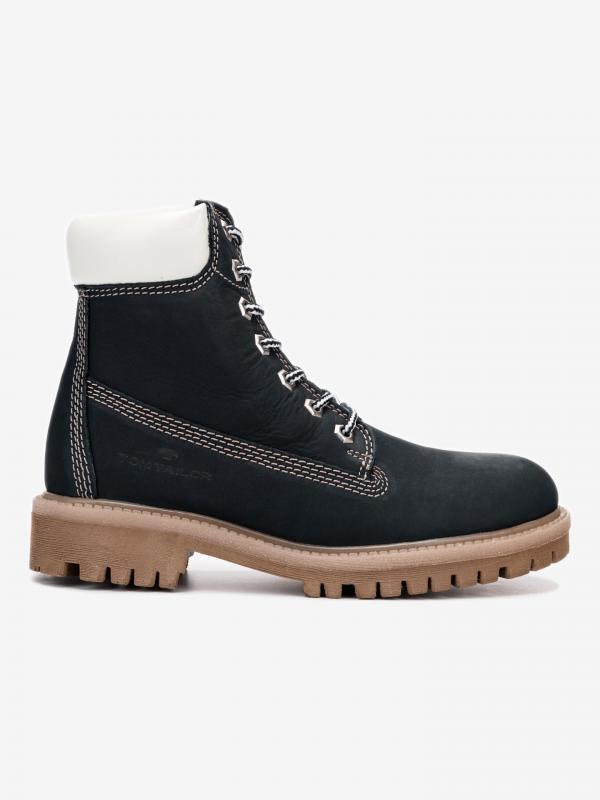 Kotníková obuv Tom Tailor Modrá