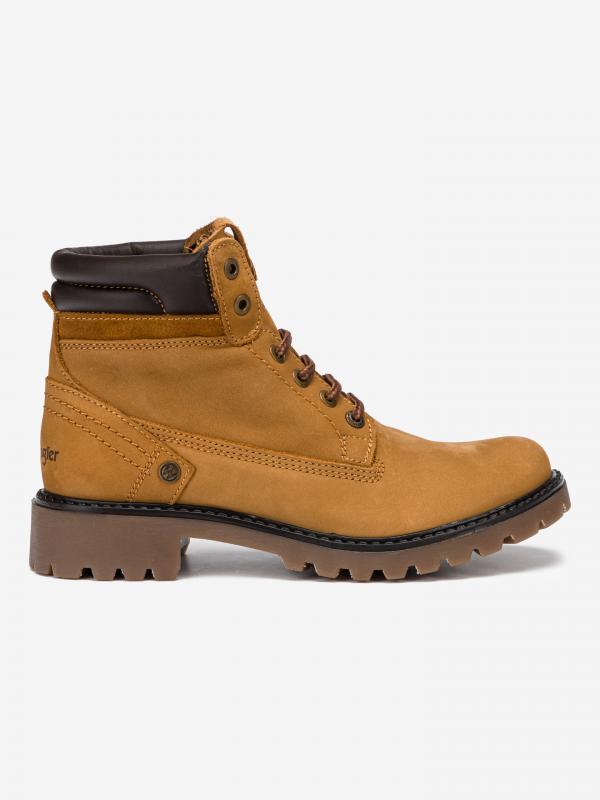 Creek Kotníková obuv Wrangler Hnědá